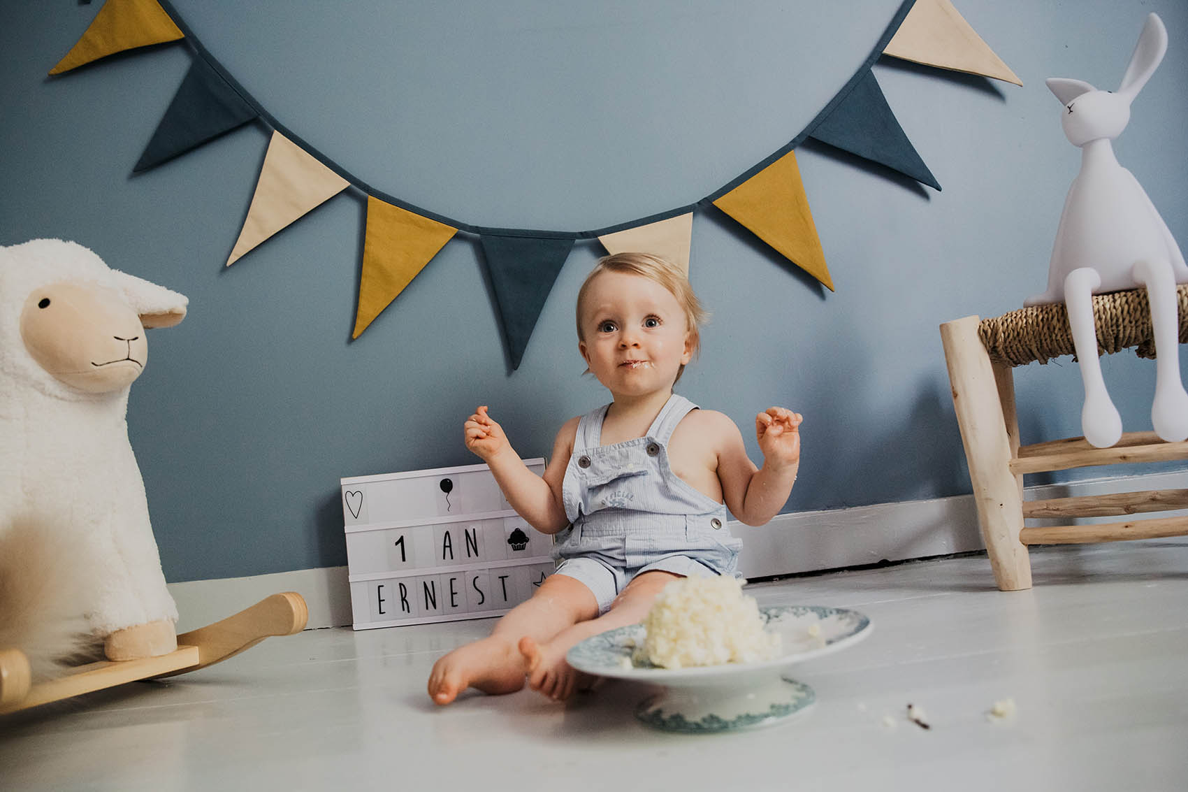 Smash Cake Photoshoot